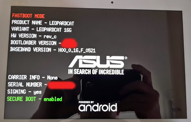 Freeing my tablet (Android hacking, SW and HW)