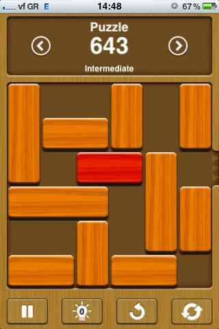 how to solve unblock me puzzles